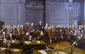 The Signing of the Constitution